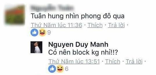 Loạt bình luận 'bá đạo' của Duy Mạnh trên Facebook: Người 'đổ' rầm rầm, kẻ chửi tục tĩu - Ảnh 8