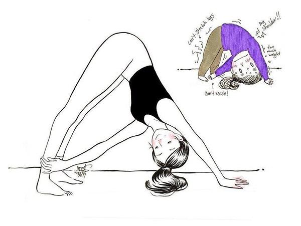 Nỗi khổ muôn đời mà chỉ những người mới tập yoga mới hiểu - Ảnh 7