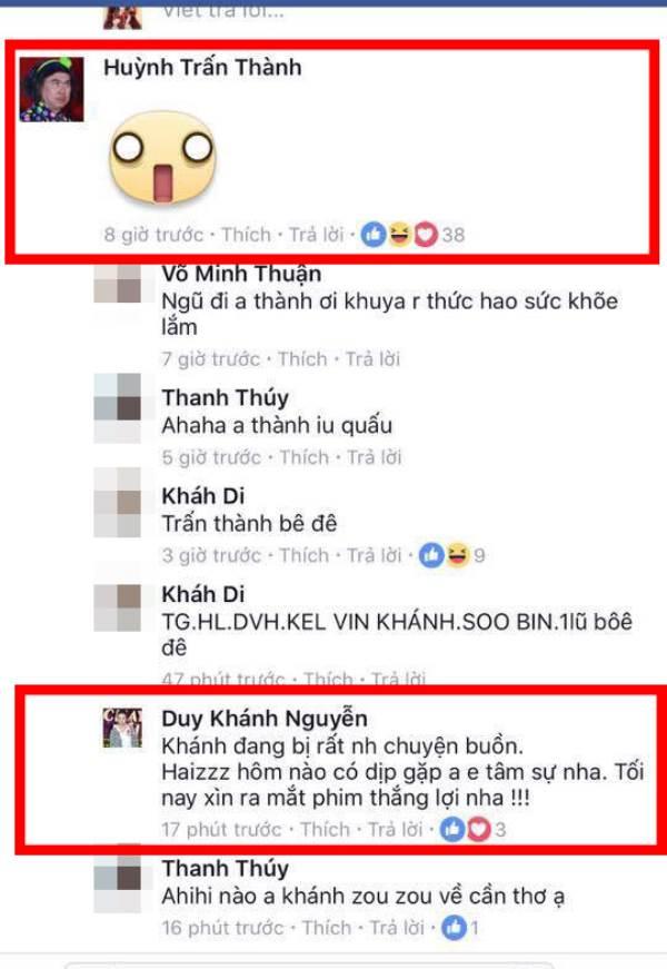 Trấn Thành bất ngờ vào bình luận status của Duy Khánh, 'cô giáo' thổ lộ điều gây sốc - Ảnh 7
