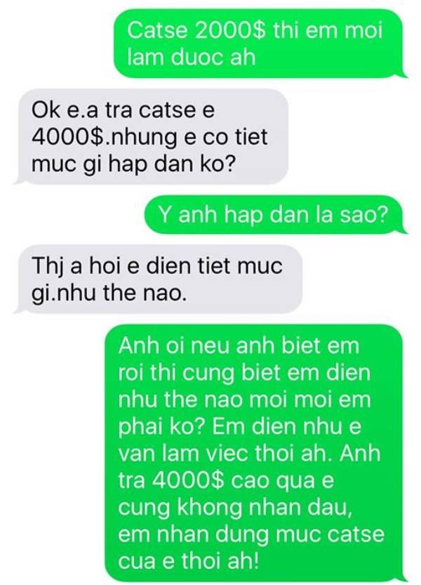 Được mời 'vui vẻ' với giá 20.000 USD, Pha Lê chỉ nhắn lại 1 câu khiến ai cũng choáng - Ảnh 2
