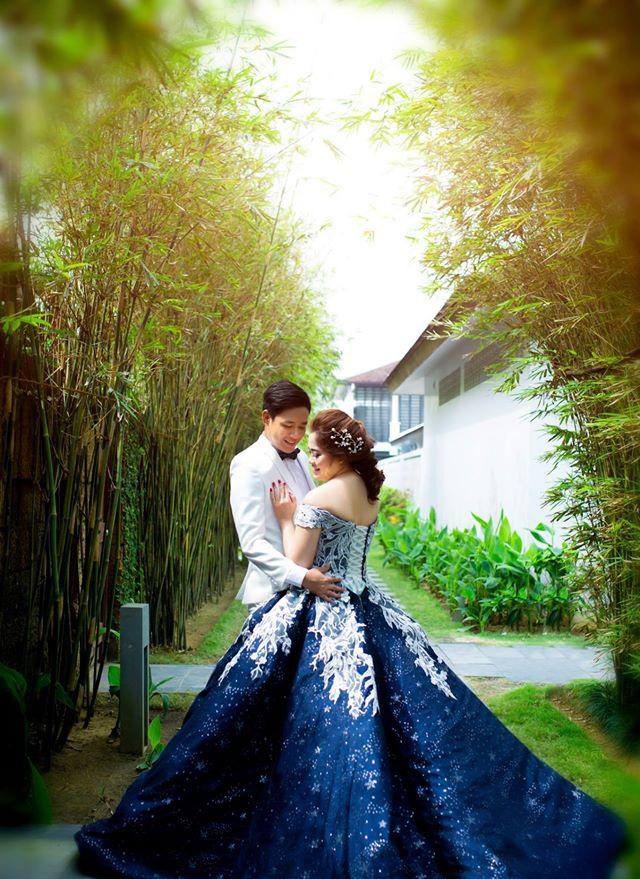 Vừa lãnh 250 triệu đồng, 'Hot boy trà sữa' dẫn 'vợ mập' ra Đà Nẵng chụp ảnh cưới hoành tráng thế này - Ảnh 7