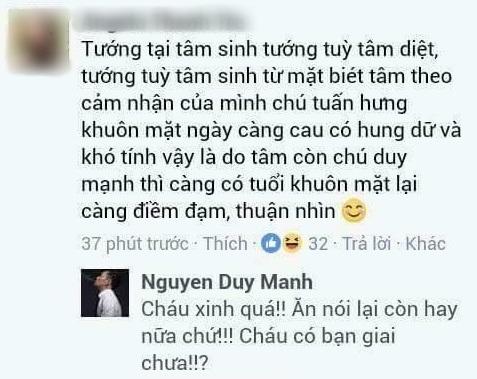 Loạt bình luận 'bá đạo' của Duy Mạnh trên Facebook: Người 'đổ' rầm rầm, kẻ chửi tục tĩu - Ảnh 12