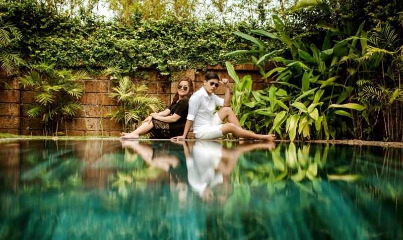 Vừa lãnh 250 triệu đồng, 'Hot boy trà sữa' dẫn 'vợ mập' ra Đà Nẵng chụp ảnh cưới hoành tráng thế này - Ảnh 15
