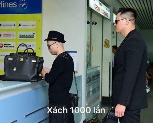 Bị Ngọc Trinh 'đá xéo' có mỗi cái túi đen xách 1000 lần, Đỗ Mạnh Cường nói gì? - Ảnh 4