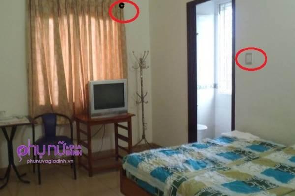 Cảnh giác với camera ghi hình lén trong nhà nghỉ, khách sạn - Ảnh 3