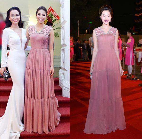 Những lần 'mặc lại đồ' của Phạm Hương trên thảm đỏ 2017 - Ảnh 5