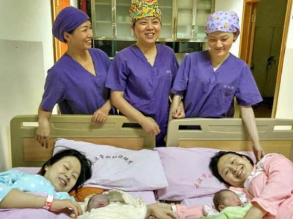 Điều kỳ lạ khó lý giải về chuyện sinh nở của cặp chị em song sinh - Ảnh 2