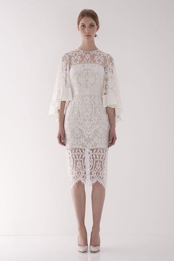 Váy cưới ngắn - xu hướng mới cho mùa cưới năm nay - Ảnh 6