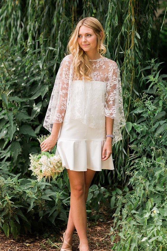 Váy cưới ngắn - xu hướng mới cho mùa cưới năm nay - Ảnh 1