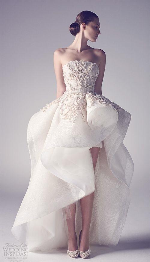 Váy cưới ngắn - xu hướng mới cho mùa cưới năm nay - Ảnh 10