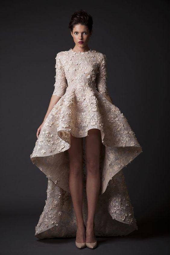 Váy cưới ngắn - xu hướng mới cho mùa cưới năm nay - Ảnh 11