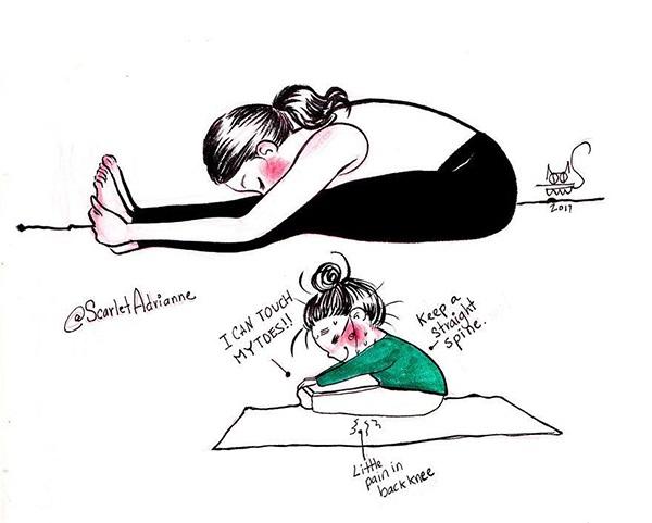 Nỗi khổ muôn đời mà chỉ những người mới tập yoga mới hiểu - Ảnh 10