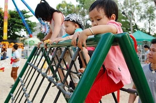 Tăng chiều cao cho trẻ bằng cách tập thể hình - Ảnh 1