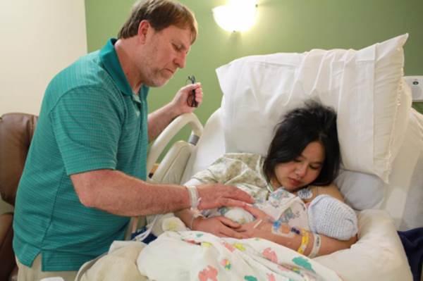 Mang thai, mẹ Việt được chồng chiều hết mực, không một lần phải giặt quần áo - Ảnh 7