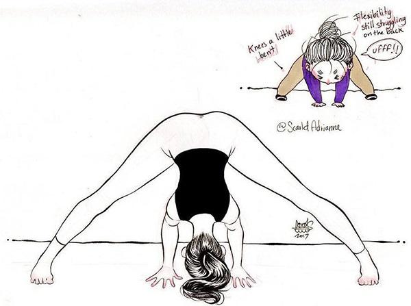 Nỗi khổ muôn đời mà chỉ những người mới tập yoga mới hiểu - Ảnh 12