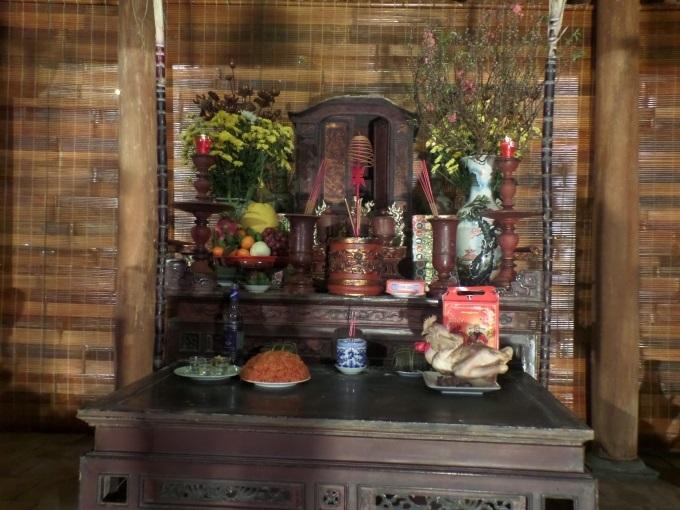Trên bàn thờ Tết Nguyên đán chỉ cúng đồ chay, không cúng đồ mặn