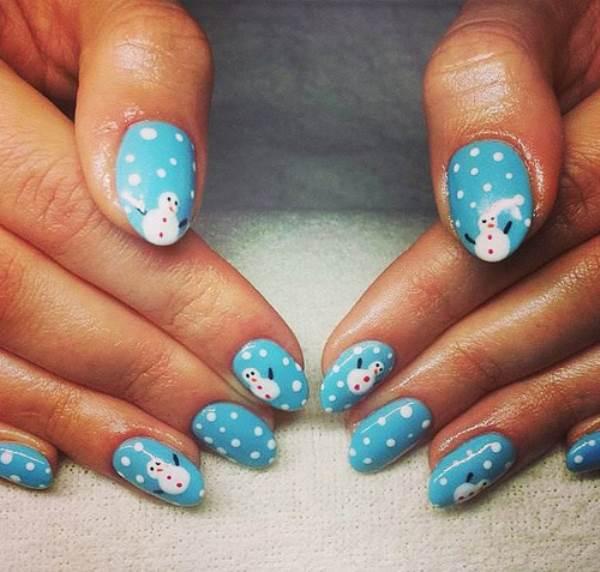 Các mẫu nail giáng sinh cực quyến rũ - Ảnh 2