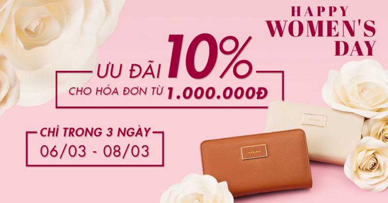 Từ 06/03 - 08/03/2017, thời trang Vascara giảm giá 10% cho khách hàng khi mua sản phẩm có hóa đơn từ 1.000.000đ - Ảnh 1
