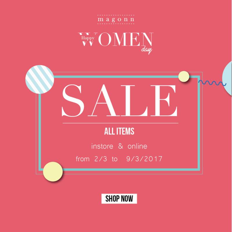 Từ 02/03 - 09/03/2017, thời trang Magonn giảm giá 50% tất cả các sản phẩm - Ảnh 1