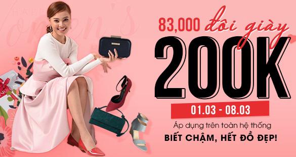 Mừng ngày 08/03, Thời trang JUNO khuyến mãi giảm giá chỉ 200k/đôi giày - Ảnh 1