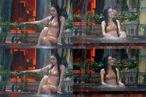 Mỹ nhân Việt khoe thân hình nóng 'bỏng mắt' khi đóng những cảnh tắm trong phim - Ảnh 10
