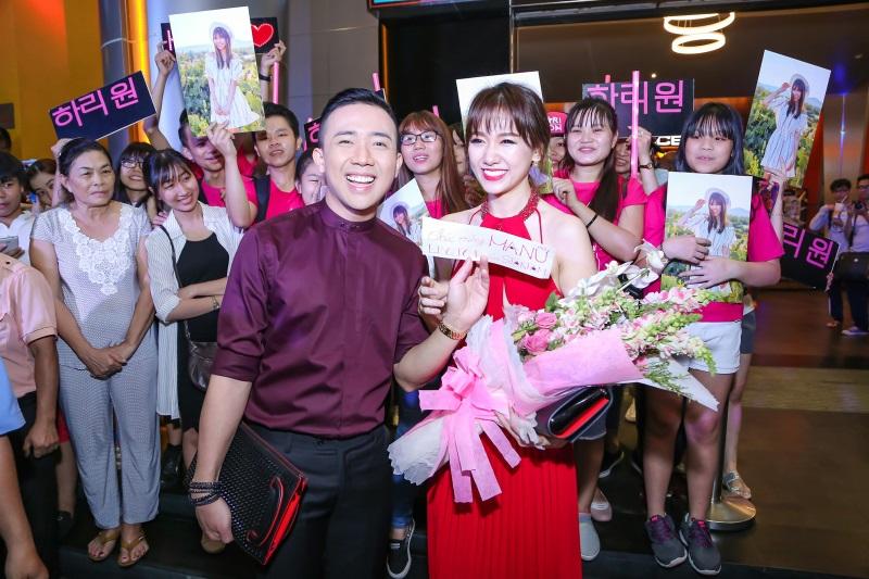 Hari Won diện nguyên set đồ hiệu đắt đỏ dự sự kiện cùng Trấn Thành - Ảnh 6