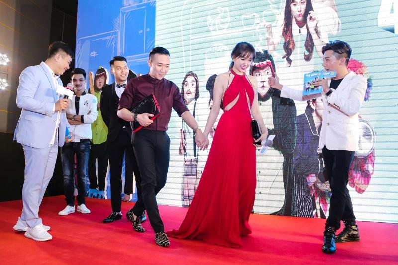Hari Won diện nguyên set đồ hiệu đắt đỏ dự sự kiện cùng Trấn Thành - Ảnh 9