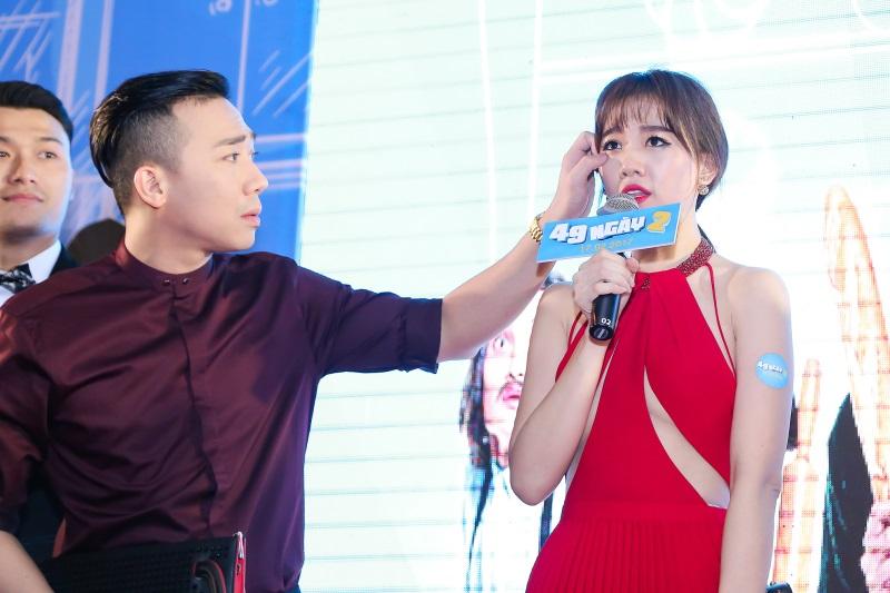 Hari Won diện nguyên set đồ hiệu đắt đỏ dự sự kiện cùng Trấn Thành - Ảnh 11