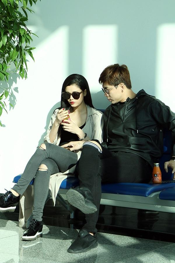 14/2, Tim - Trương Quỳnh Anh 'trốn' con trai cưng Sushi đi du lịch Thái Lan - Ảnh 3