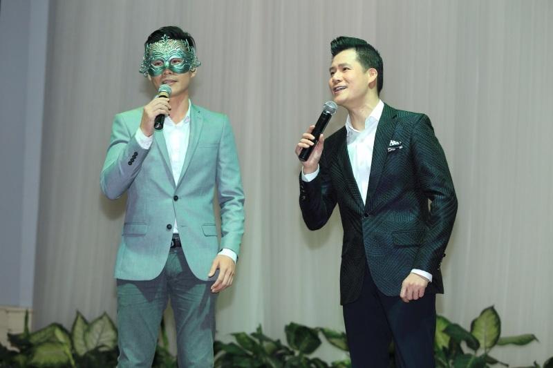Minh Tuyết hở bạo, tình tứ bên Quang Dũng ra mắt gameshow 'Ai sẽ thành sao' - Ảnh 6