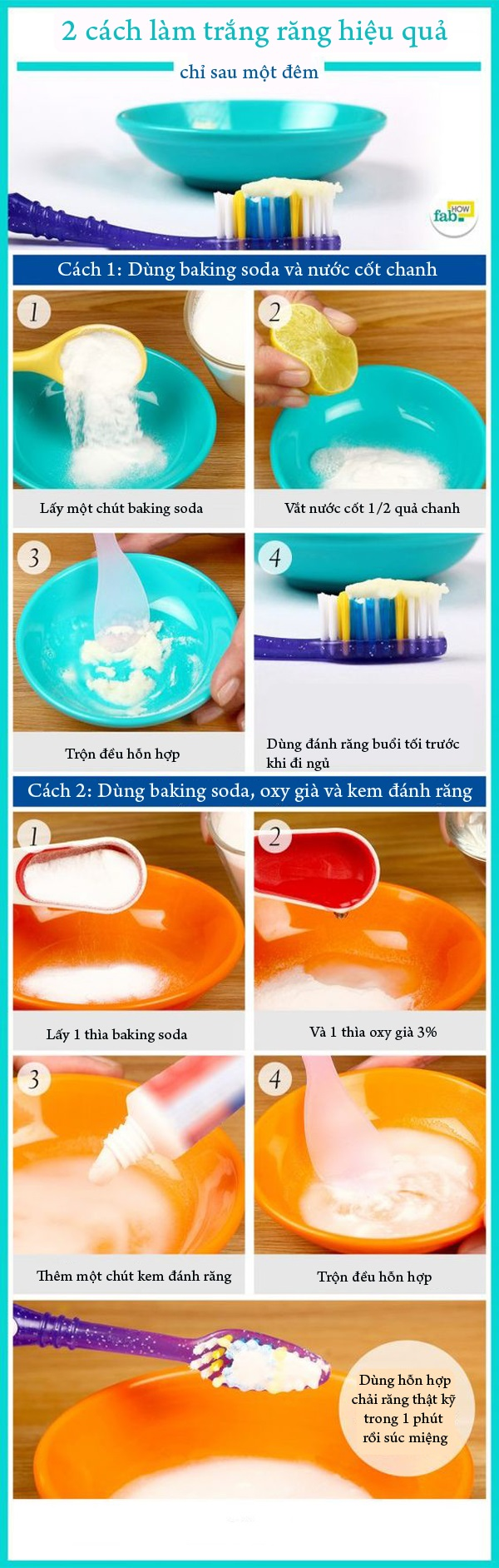 2 cách tẩy trắng răng tại nhà chỉ sau một đêm - Ảnh 1