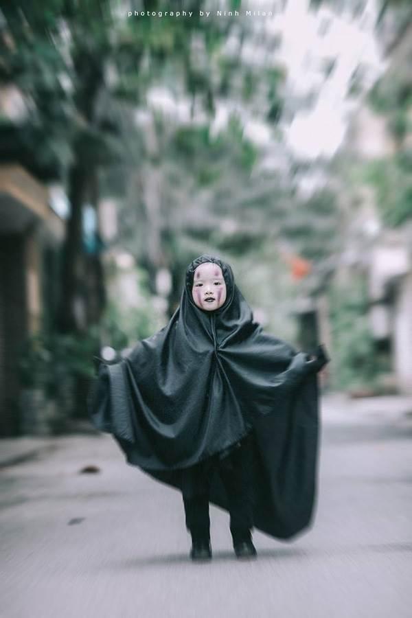 Xuất hiện 'con ma' Vô Diện phiên bản Việt Nam diễn sâu hơn cả phiên bản gốc - Ảnh 11