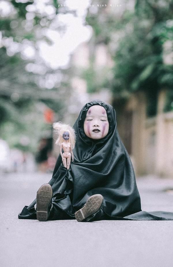 Xuất hiện 'con ma' Vô Diện phiên bản Việt Nam diễn sâu hơn cả phiên bản gốc - Ảnh 13