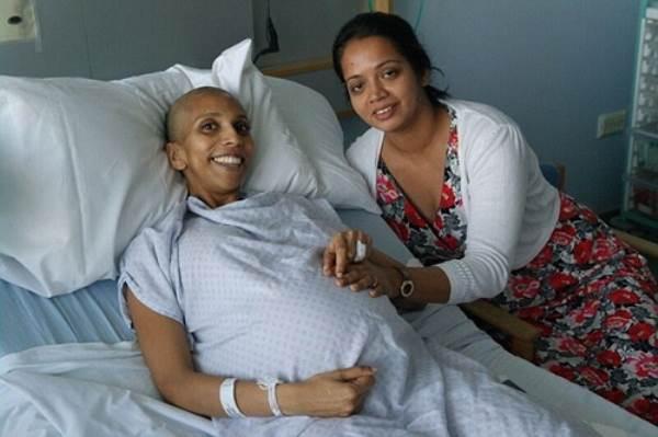 Xúc động câu chuyện bà mẹ mắc ung thư vú vẫn quyết sinh 2 con khỏe mạnh - Ảnh 3