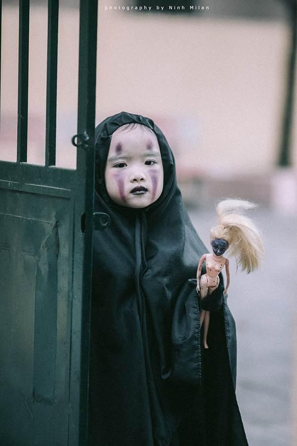 Xuất hiện 'con ma' Vô Diện phiên bản Việt Nam diễn sâu hơn cả phiên bản gốc - Ảnh 8