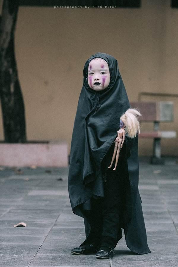 Xuất hiện 'con ma' Vô Diện phiên bản Việt Nam diễn sâu hơn cả phiên bản gốc - Ảnh 1