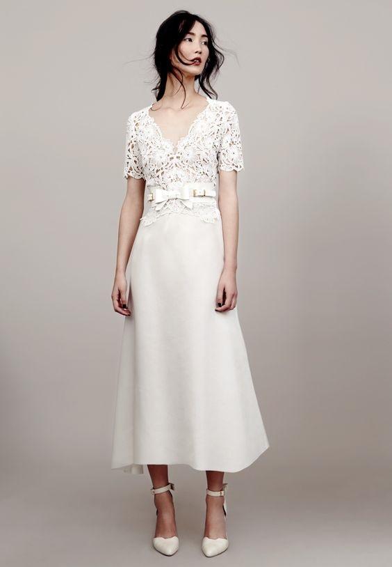 Váy cưới ngắn - xu hướng mới cho mùa cưới năm nay - Ảnh 2