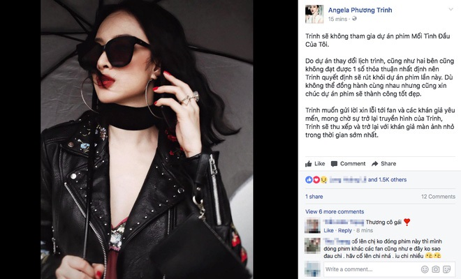 Angela Phương Trinh bất ngờ tuyên bố rút lui khỏi dự án 'She was pretty' phiên bản Việt: Nghi vấn bị đạo diễn và nhà sản xuất chèn ép - Ảnh 2