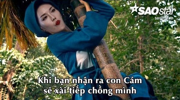 Những tấm ảnh chế 'bá đạo' của sao Việt khiến dân mạng cười 'té ghế' - Ảnh 14