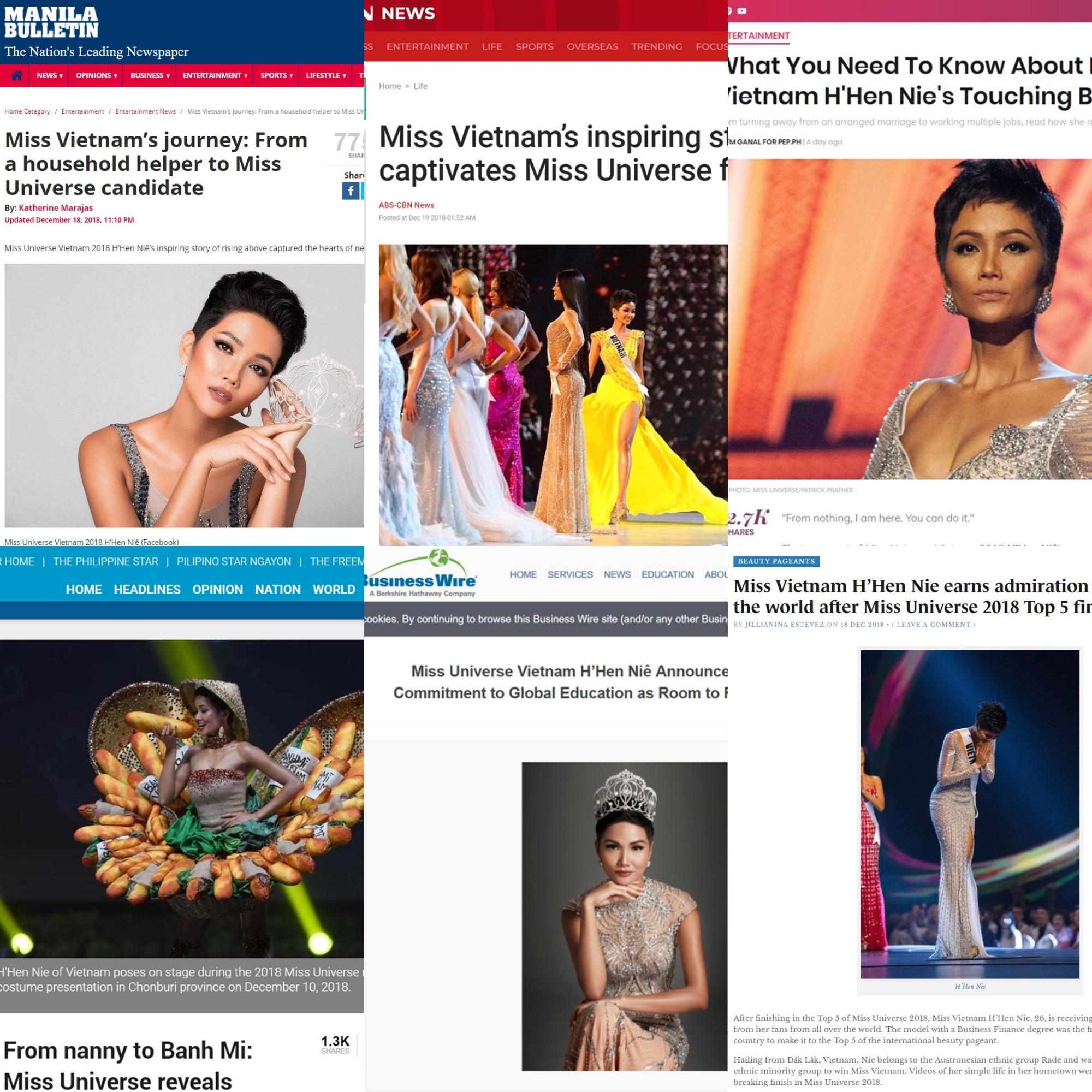 Báo chí quốc tế hết lời khen ngợi, gọi Top 5 Miss Universe 2018 là 'Hoa hậu nghị lực' - Ảnh 3