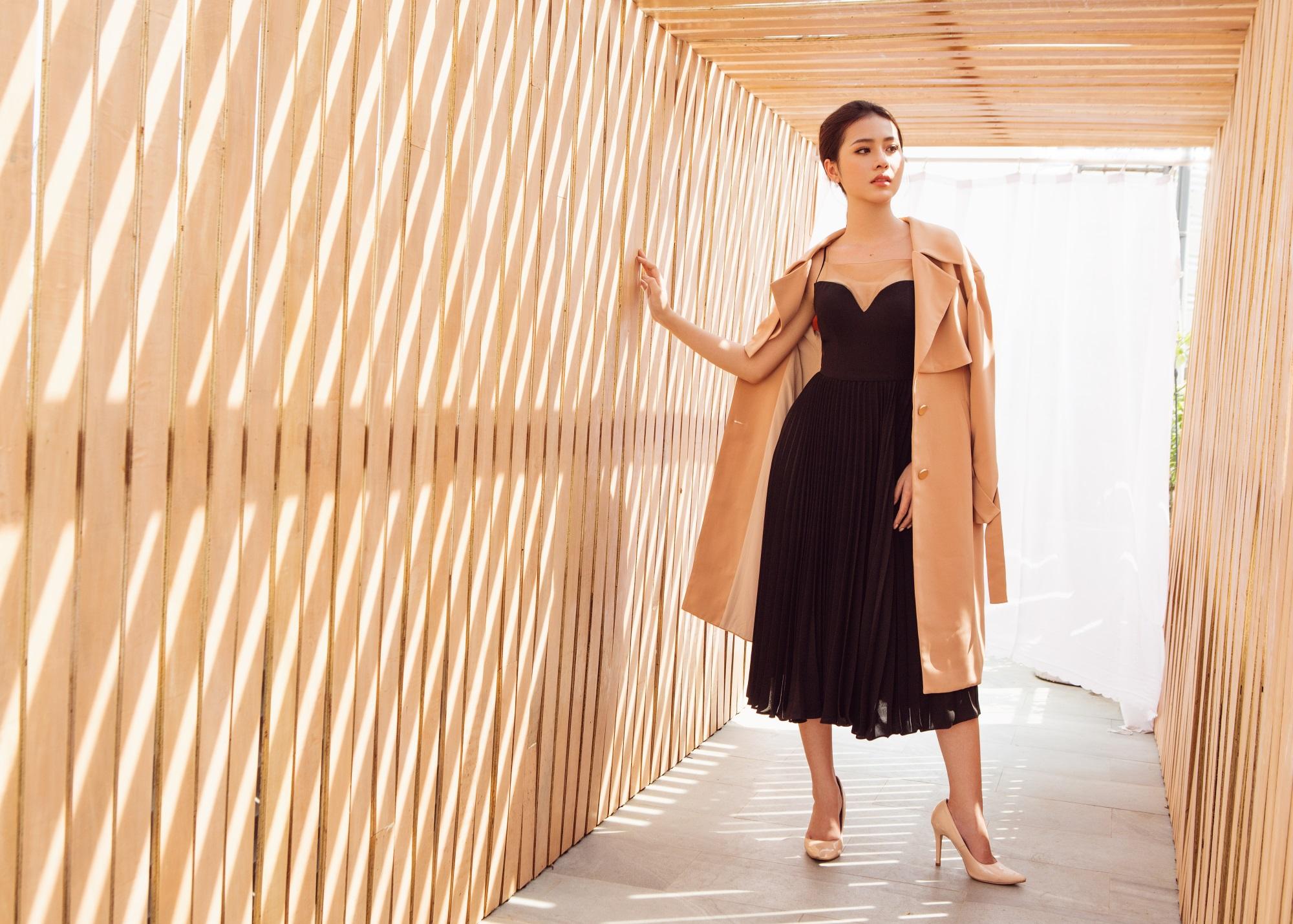 Hoa hậu Biển Kim Ngọc 'tái xuất' với hình ảnh quý cô thanh lịch đầy cuốn hút - Ảnh 5