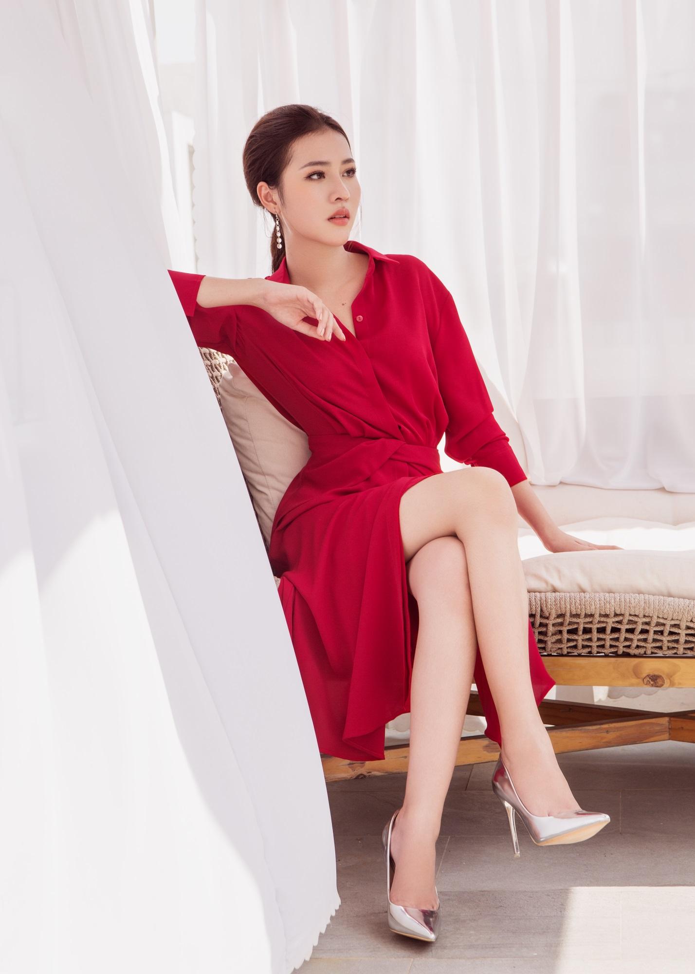 Hoa hậu Biển Kim Ngọc 'tái xuất' với hình ảnh quý cô thanh lịch đầy cuốn hút - Ảnh 6