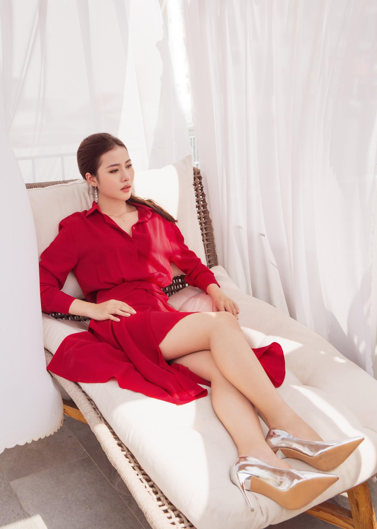 Hoa hậu Biển Kim Ngọc 'tái xuất' với hình ảnh quý cô thanh lịch đầy cuốn hút - Ảnh 7