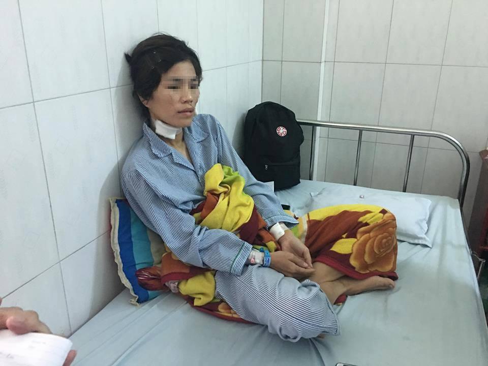 Người phụ nữ bị chồng cũ cắt tai, hành hung dã man vì không cho mượn tiền - Ảnh 1