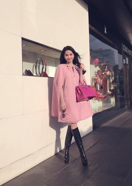Áo cape - Biến tấu cho mùa đông lạnh giá của mỹ nữ Việt - Ảnh 5