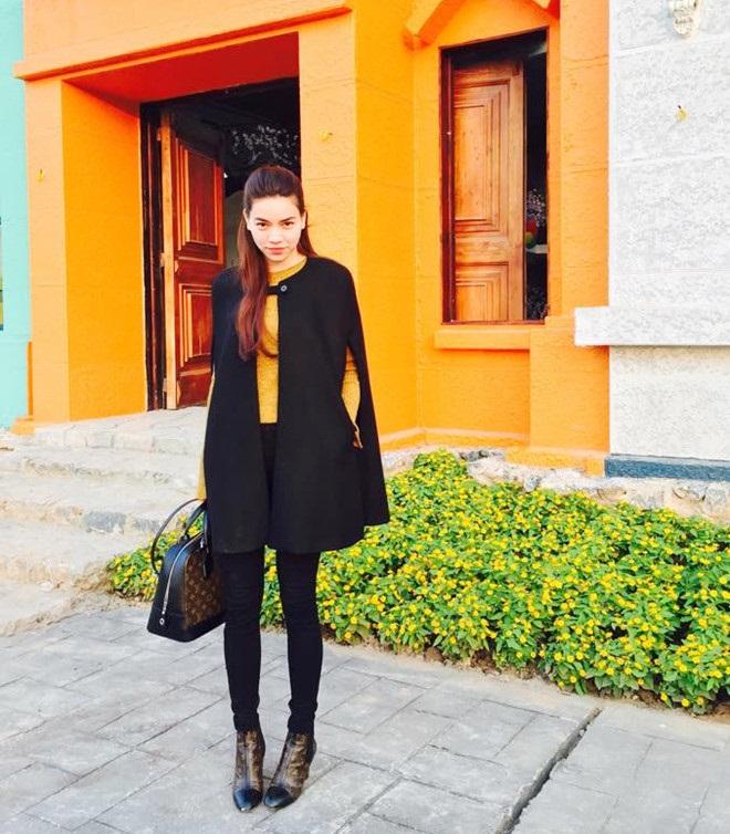 Áo cape - Biến tấu cho mùa đông lạnh giá của mỹ nữ Việt - Ảnh 1