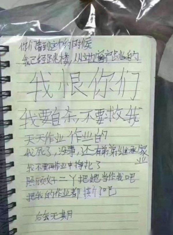 Ám ảnh bức thư tuyệt mệnh của bé gái 12 tuổi nhảy lầu tự tử do không chịu nổi áp lực học tập  - Ảnh 2