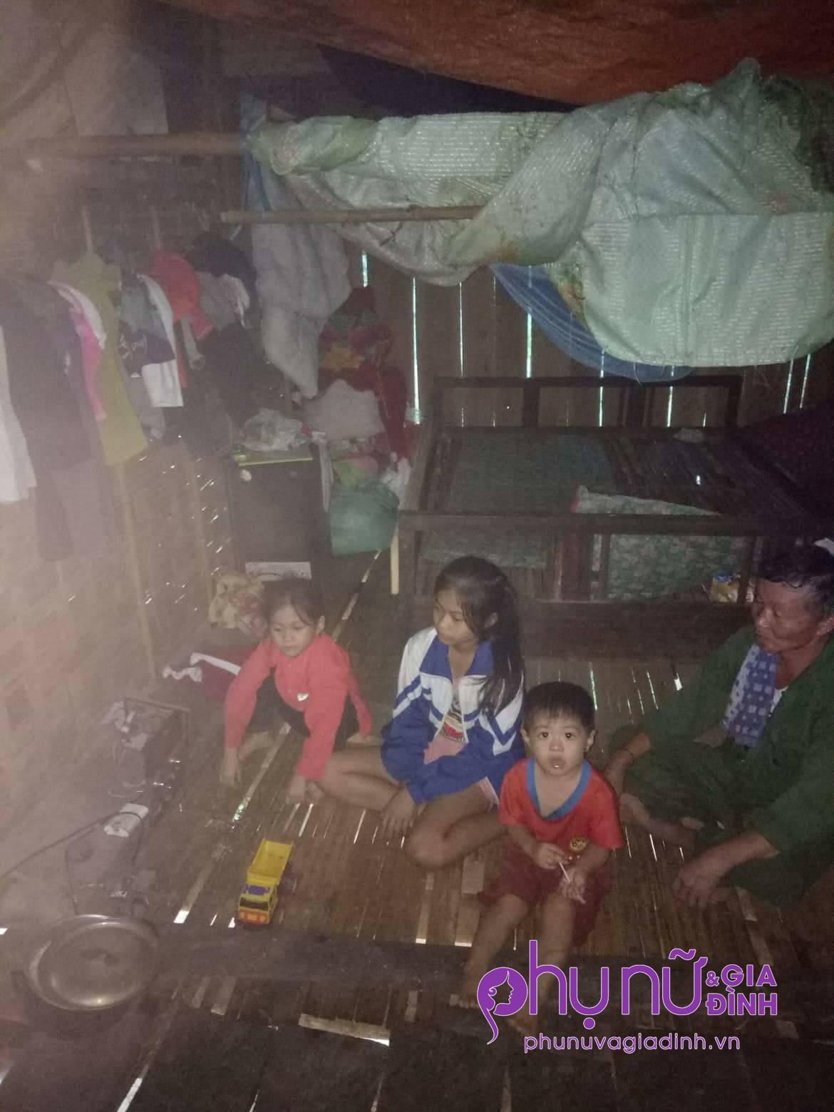 Chồng tử vong, vợ nguy kịch trên đường bán măng rừng, 3 đứa con bơ vơ, không nơi nương tựa - Ảnh 1