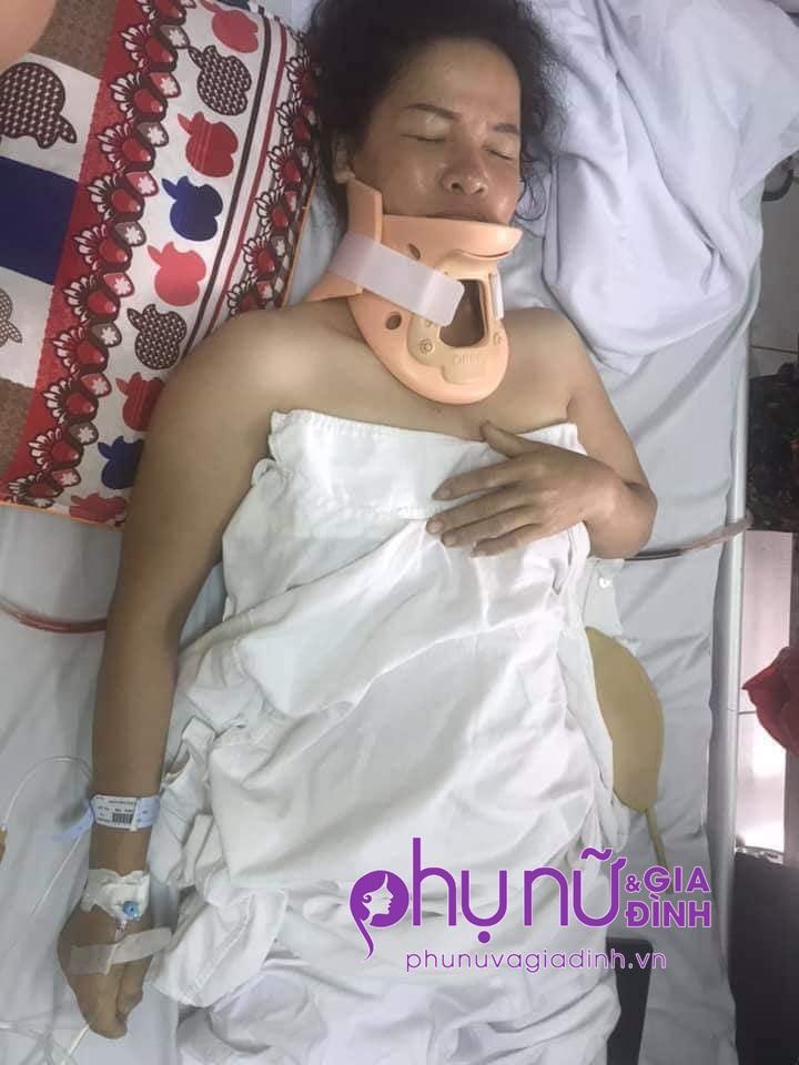 Hoàn cảnh thương tâm của người phụ nữ nguy kịch vì tai nạn giao thông không tiền cứu chữa - Ảnh 1