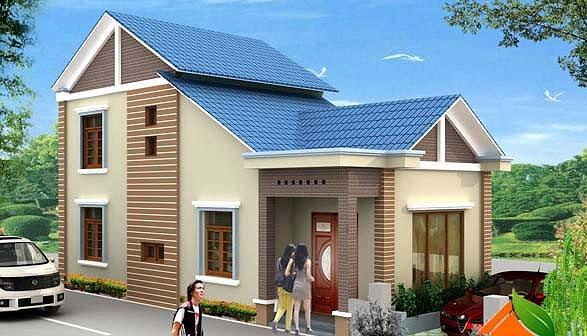Mẫu nhà cấp 4 gác lửng mái Thái đẹp miễn chê chỉ 200- 300 triệu đồng - Ảnh 7